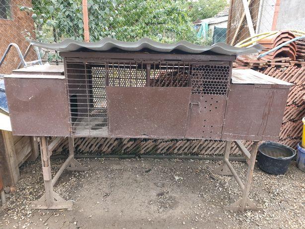 Cusca iepuri metalica