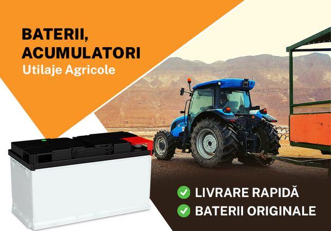 Baterii, Acumulatori Tractoare, Utialje Agricole - Livrare Rapida