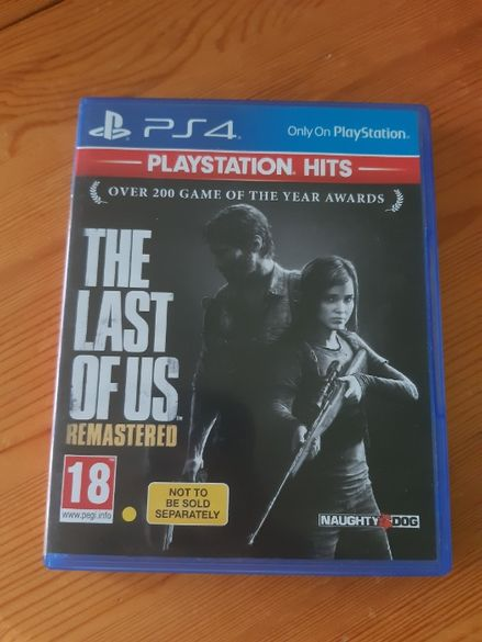 Игра за PS - The last of us Remastered