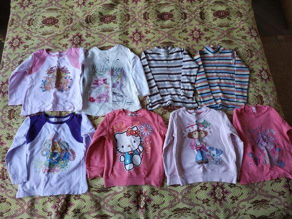 Продавам детски блузки 9бр. и клинчета 4бр.