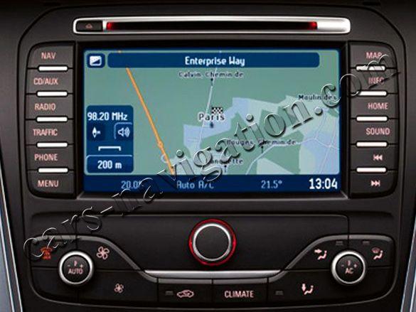 ОРИГИНАЛНИ SD карти навигация България Ford Форд Mondeo Galaxy Focus