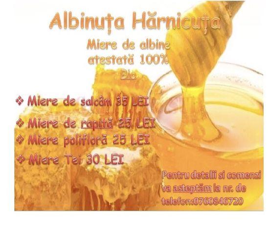 Miere de albine 100%bio