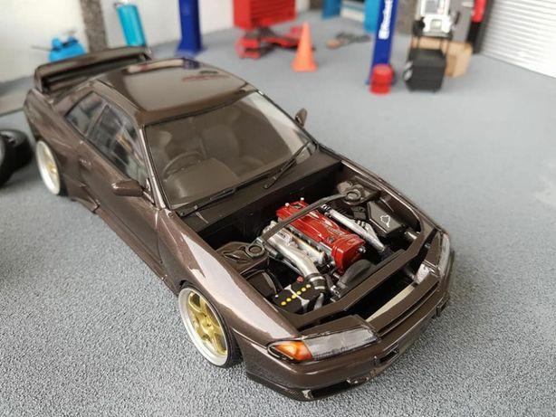 KIT Macheta Auto 1:24 Nissan Skyline GT-R R32 CITITI DESCRIEREA