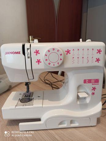 Швейная машинка Janome deluxe mini