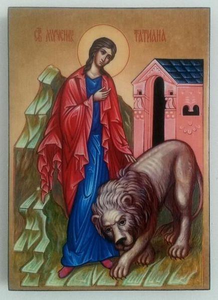 Икона на Света Татяна icona Sveta Tatiana гр. Пловдив - image 1