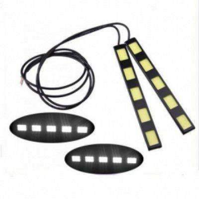 Комплект led диодни дневни светлини amio сов 5