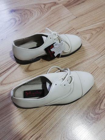 pantofi Leather Upper