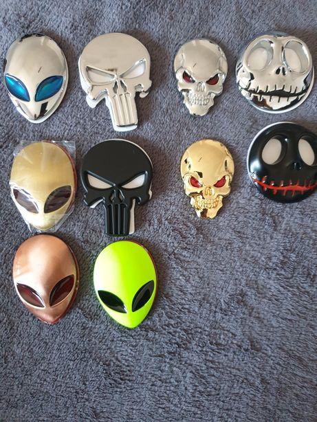 Capete crani mort extraterestru justitiaru alien auto scuter bicicleta