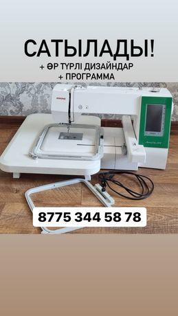 Продается Вышивальная машина Janome 450 E+ готовые дизайны+ программа