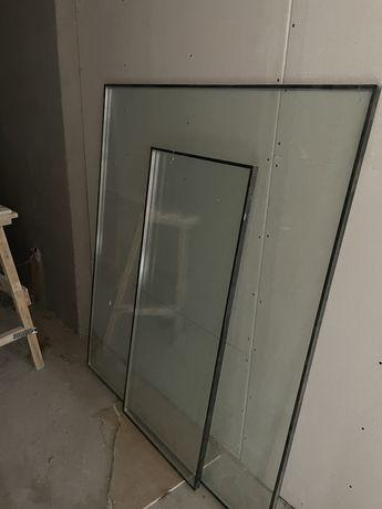 Окно с дверью балконная