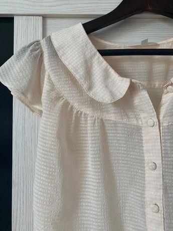 Легкая полупрозрачная блузка Koton