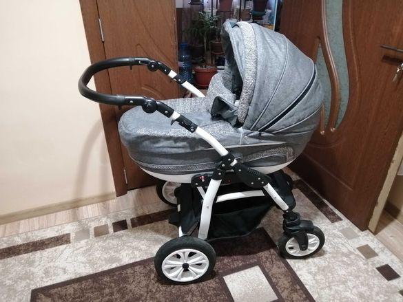 Комбинирана бебешка количка lorelli kara 3в1