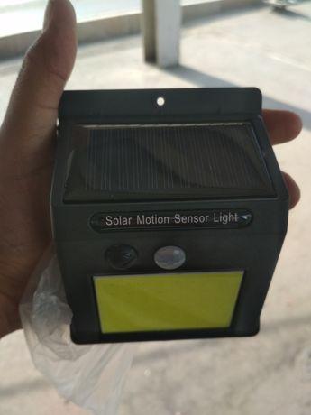 Лампа светодиодная солнечный с датчиком движения
