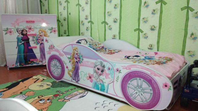 Детская кроватка эльза стол комод