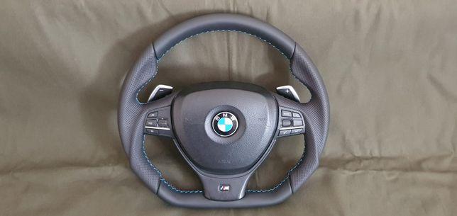 Volan ergonomic bmw f10 cu padele