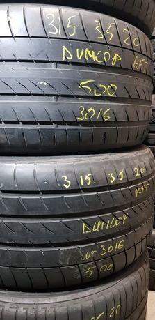 Anvelope vară 315 35 20 Dunlop și 255 40 20 Goodyear