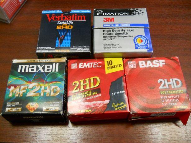 """Dischete floppy disk 3.5"""" - reformatate"""