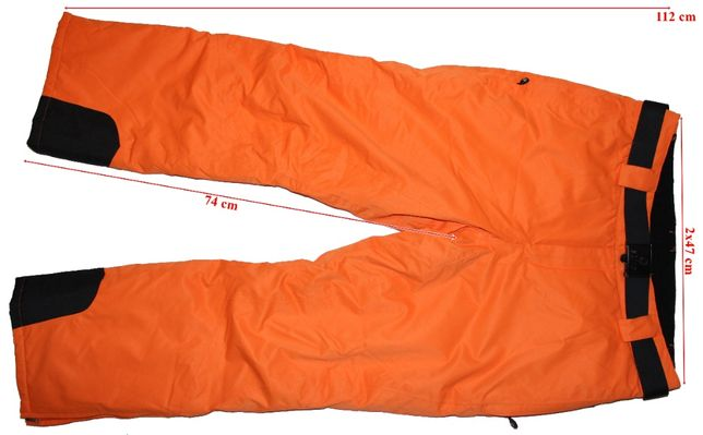 Pantaloni schi Etirel, membrana Aquamax 3.3, barbati, marimea 54(XL)