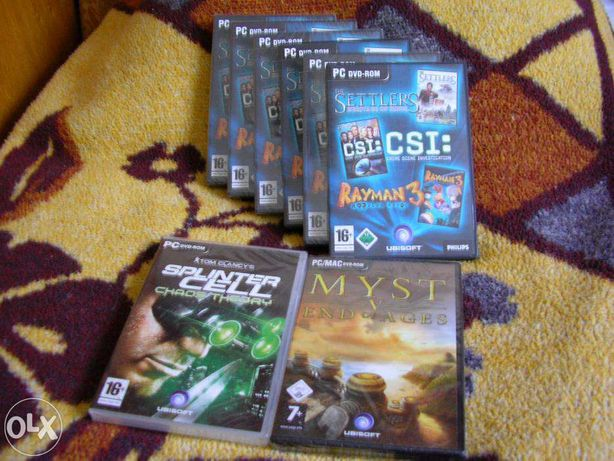 Jocuri originale sigilate Ubisoft
