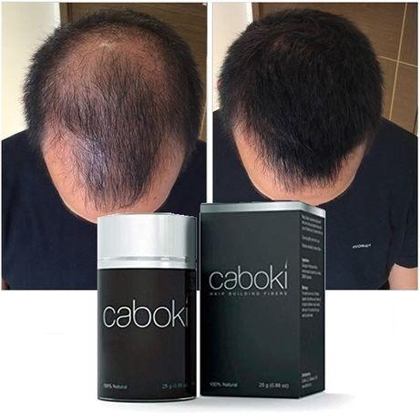 Caboki / Toppik фибри, сгъстител, пудра за коса