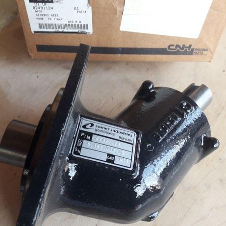87491126 коничен редуктор за Case комбайна