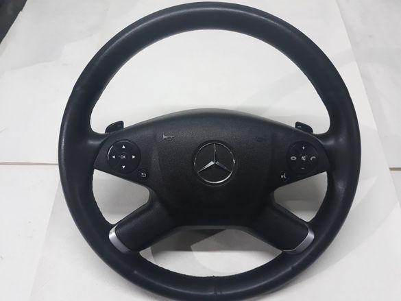 Волан с аербег за мерцедес W212 с палци за скорости
