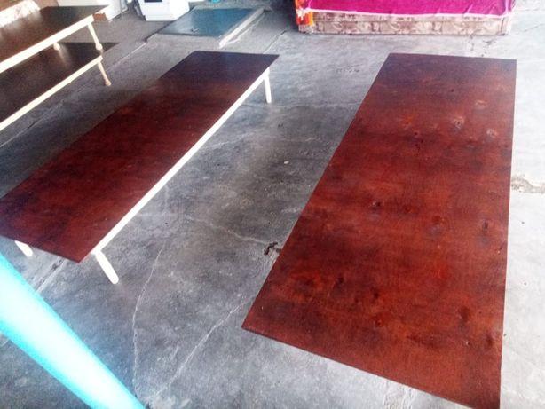 Столы из фанеры. Высота ширина и длина 35см-85см-2.44