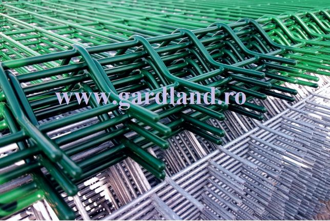 Panou gard bordurat zincat, plase de gard 1700x2500 45 lei