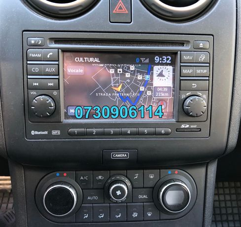 SD CARD navigatie Nissan Connect 1/2/3 Juke Qashqai
