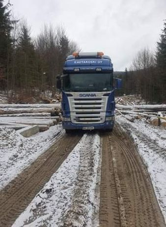 Camion forestier scania r580