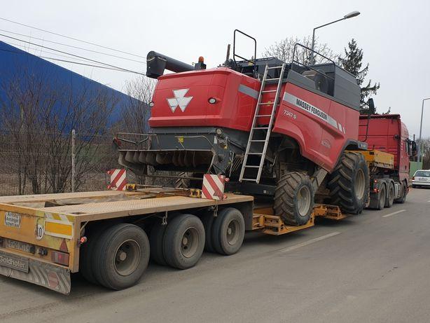 Transport combina agricola