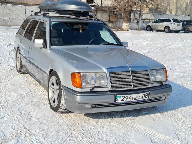 Передний бампер Е500 без расширения для W124 Mercedes Benz