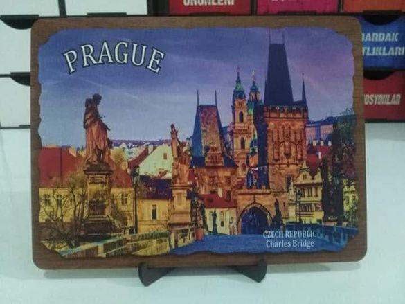 Картини и кутия за бижута от Чехия и Созопол