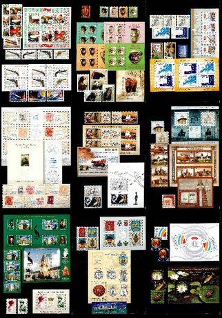 Timbre Romania 2008 - AN COMPLET!!! 66 timbre + 26 blocuri, MNH!