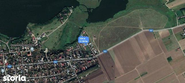 Vanzare teren 1300 mp intravilan Gradistea, Ilfov
