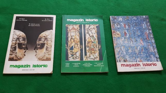 Magazin Istoric februarie 1997, iunie 1997, iulie 1997