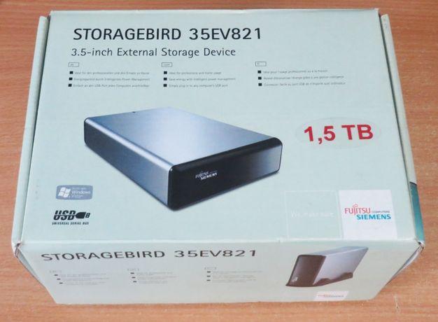 Hard extern 1.5TB Fujitsu Siemens HDD 35EV821 cu alimentare la priza