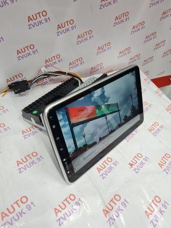 """Магнитола 1дин Андроид 10"""" с Поворотом!!! Магнитафон Мафон"""