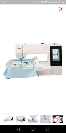 Компьютерная вышивальная машинка