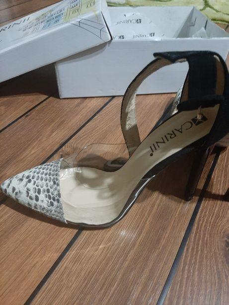 Pantofi stiletto Carinii,mas 39