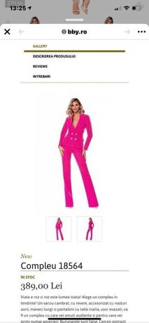 Vand costum bby roz