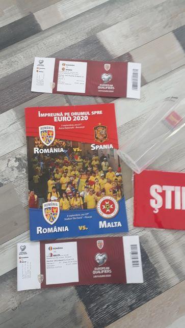 Romania Spania, Malta: Bilete, Program, pahar, pampon