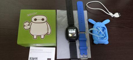 Детские умные часы с GPS трекером и  телефоном