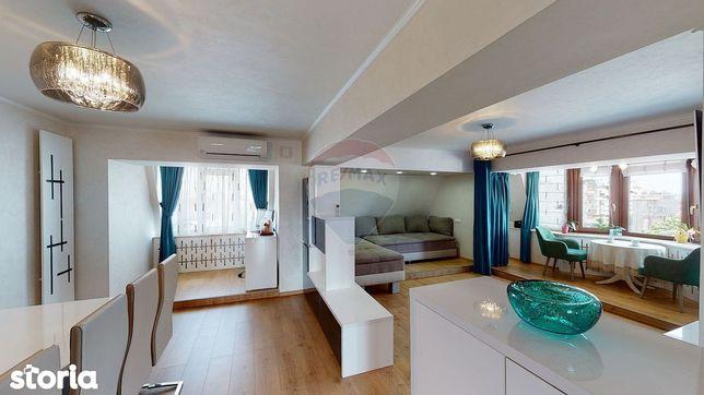 Apartament 4 camere de vânzare, ULTRACENTRAL, mobilat și utilat modern