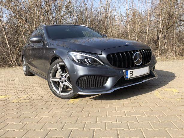 Vand Mercedes C W205 AMG BiTurbo 204cp/Distronic/Full Led/7GTronic