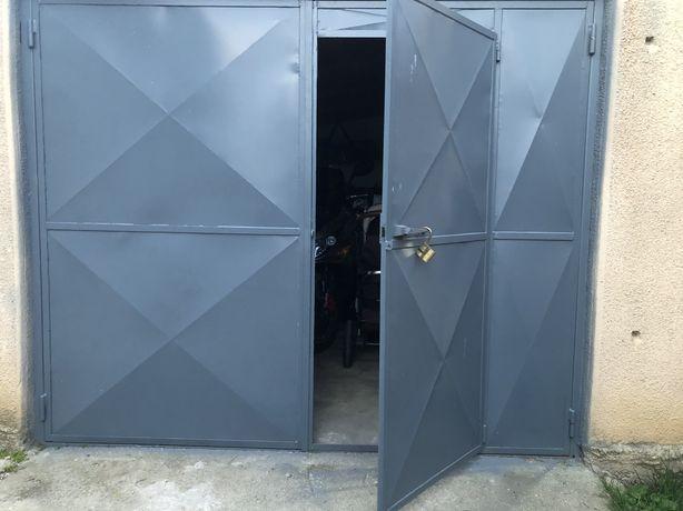 Porți garaj duble 250/210 complet cu ramă