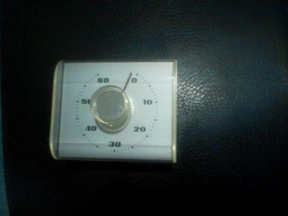 механичен хронометър до 60 минути за готвене за вграждане