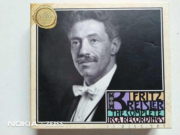 CD rare de colectie muzica clasica Fritz Kreisler The Complete RCA