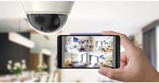 Домашнее видеонаблюдение с сигнализацией.