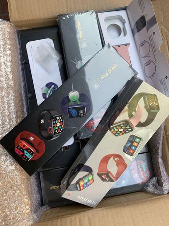Умный часы, смарт часы, apple watch, HW22 plus,M16plus+KASPI RED